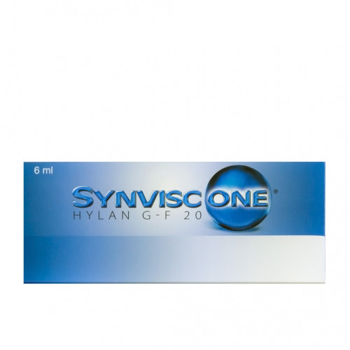 Synvisc One Hylan G-F 20 (1 x 6 ml)
