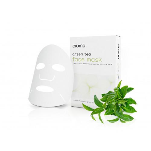 Croma Green Tea Face Mask